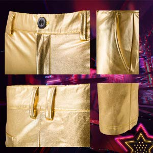 Slim Fit Club Moto Pants Party Clubwear Halloween/Cosplay
