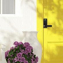 smart keyless door lock with bluetooth