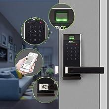 smart keyless door lock