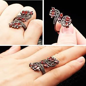 wedding ring for women,aniversary ring for women,women ring black