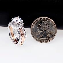 Anillo de boda, anillo de compromiso, anillo de promesa, anillo para niñas