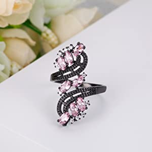 pink ring for women,pink ring for girls