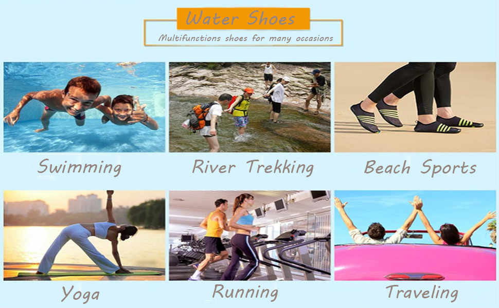 Barefoot Water Sports Skin Shoes