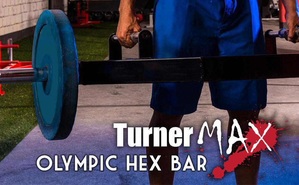turnermax olympic hex bar