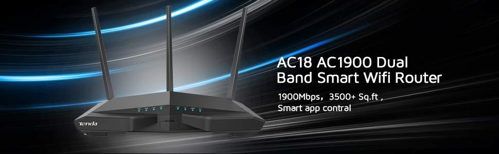 Tenda AC18 AC1900 Dual Band Wireless