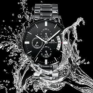 waterproof watches for men