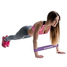 Insonder Fit Loop Resistance Bands Amazon Set Best Workout Home Gym Men Women Latex Natural Best