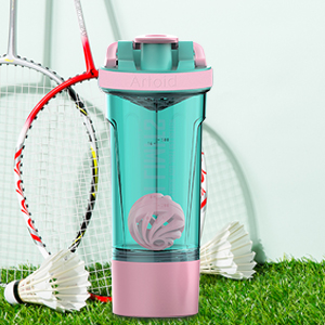 Each bottle comes with its own whisk and mix ball to make protein mixing as efficient as possible