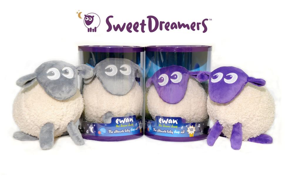 SweetDreamers ewan the dream sheep grey