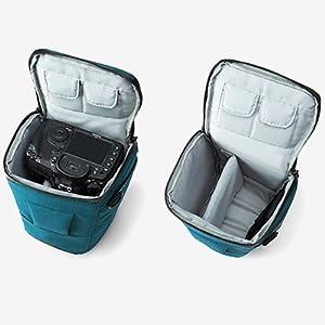 294d83e3f BAGSMART Compact DSLR Camera Bag Shockproof Case Travel  Amazon.co ...