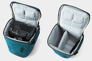 bagsmart compact dslr camera bag shockproof case travel