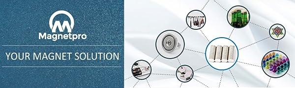 Magnetpro Magneet Magnetische koelkast neodymium whiteboard n52 sterke zeldzame aarde krachtige koelkast