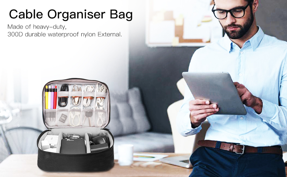 Cable Organiser Bag,