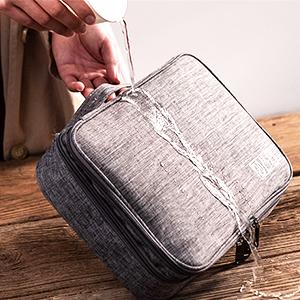 Doppelschicht Electronics Accessories Organizer Bag