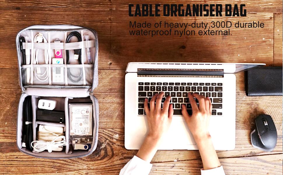 Travel Electronics Storage Bag