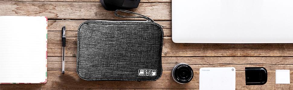 Travel Cable Organiser Bag