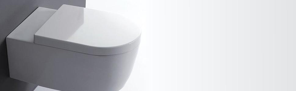 1004 SHD SEAT Luxury Thermo Anti-Bac Heavy Duty Soft Closing Toilet Seat