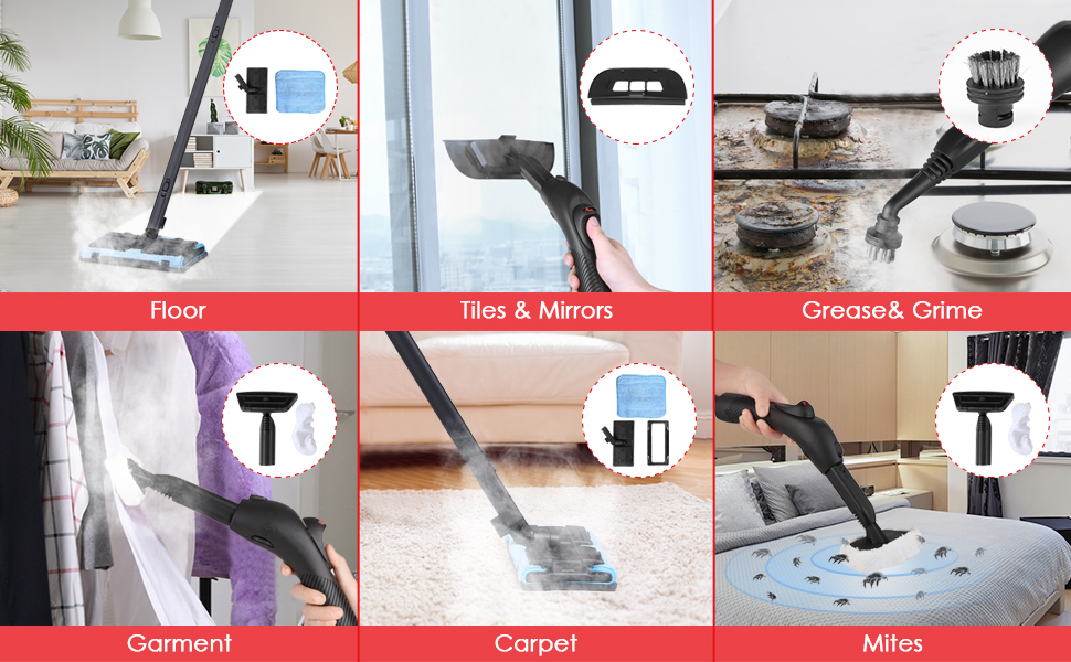 Simbr Steam Cleaner Best Steam Mop Maximum 6m Cleaning