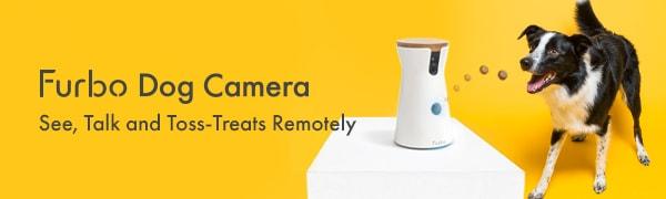 Furbo Dog Camera See, Talk and Toss-Treats Remotely