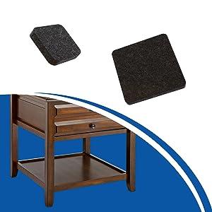vilt meubels pads vloer meubilair beschermers kleverige pads zware meubels vloer beschermers