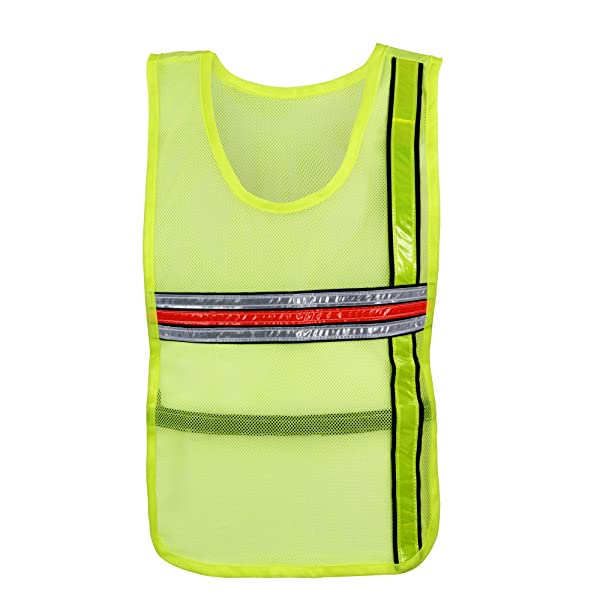Objective Black Safety Vest High Visibility Breathable Mesh Pvc Tape Outdoor Clothes With Traditional Methods Security & Protection Workplace Safety Supplies