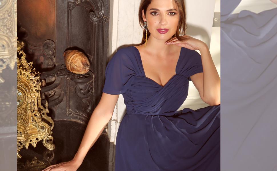 bb719345 KRISP® Women Prom Maxi Dress Bridesmaid Gown Party Evening Cocktail ...