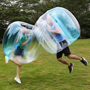 PELLOR Inflatable Bumper Bubble Balls Body Zorb Ball Bubble Soccer ... 5f2276dd6f5