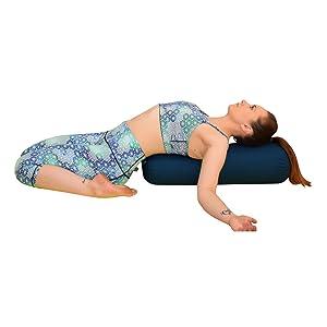 Yoga Bolster Pose