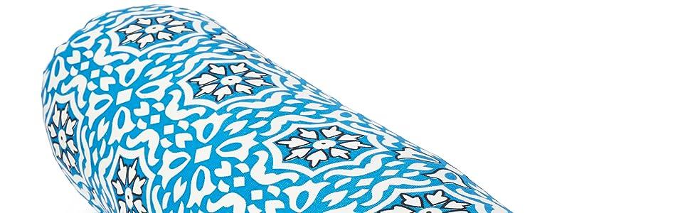 Blue Print Yoga Bolster