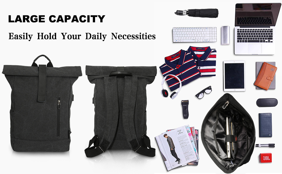 a040ca1571939 Why choose TOCODE ROLL TOP LAPTOP BACKPACK