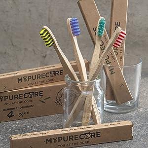 bamboo toothbrushes medium