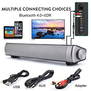 Support 3.5mm AUX, RCA, TF Card, Bluetooth, With remote control function