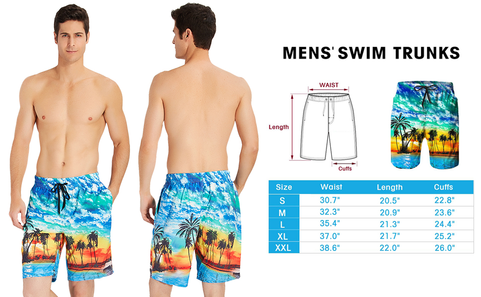 e4549b63491c6 Why are You Choose Our 3D Printed Beach Shorts? 1.Lightweight,Breathable  and Comfy Swim Trunks. 2.Quick Drying ...