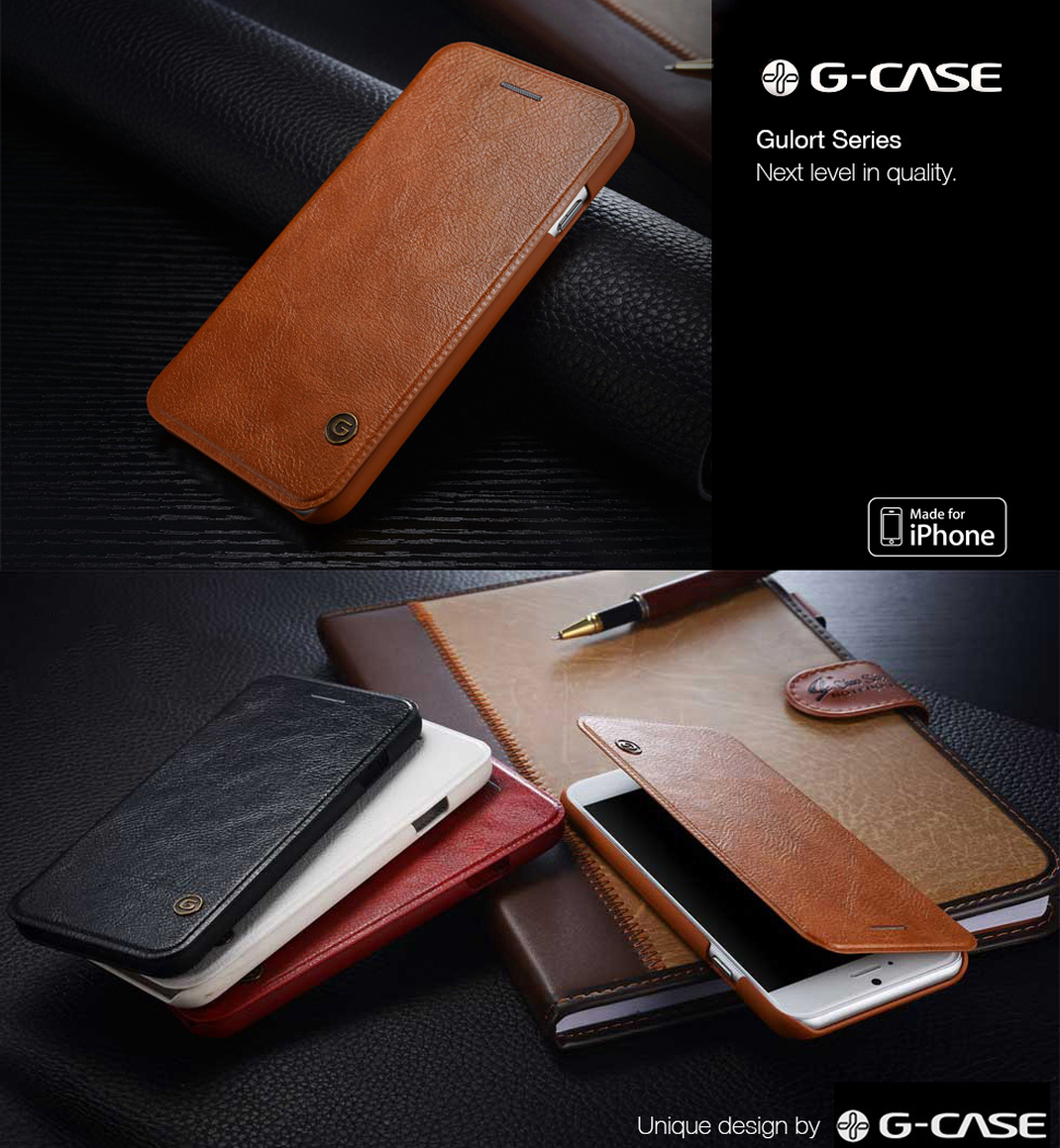 The G CASE Gulort Series IPhone Wallet Case Is Not Only A Good Protection To Your Device But Also Decoration Strut Style And Stand Out From