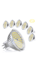 Bombilla LED GU5.3 MR16 12V 5W Blanco Calido Equivalente a ...