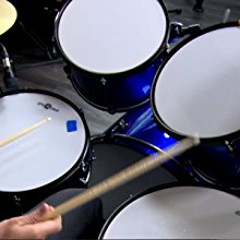Playing BDK-1 drum kit by Gear4music