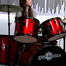 Red BDK-1 drum kit