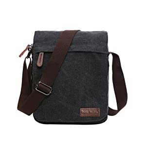 0e156942e747 SUPA MODERN® Canvas Messenger Bag Shoulder Bag Laptop Bag Satchel ...