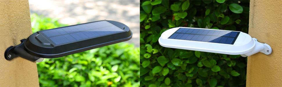 solar wall lights