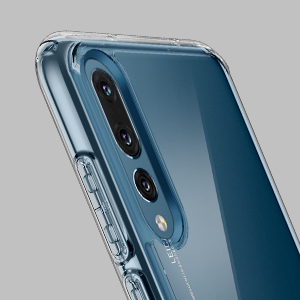 meet 56245 a74f6 Spigen [Ultra Hybrid] [Crystal Clear] Case Compatible for Huawei P20 Pro,  Flexible TPU Hard PC Back All Round Protection Phone Cover for Huawei P20  ...