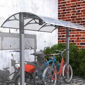 Songmics gvh017 door canopy door entry awning semi for Como hacer una marquesina para puerta de entrada