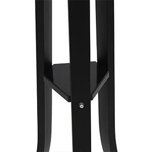 Songmics 9 Hook Coat And Hat Stand Rack Garment Coat Tree Heavy Duty Metal 176 Cm Black Rcr01b Amazon Co Uk Kitchen Home