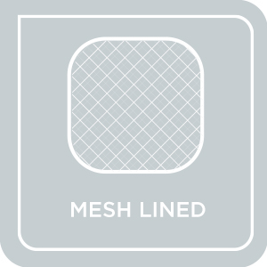 Mesh Lined