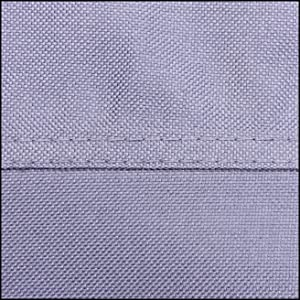 watertight double stitching uv protected