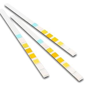 100 x 8 parámetro profesional/GP para análisis de orina Multisticks orina tiras de prueba de cinta Stick – PH/glucosa/Cetona/hígado & Riñones ...