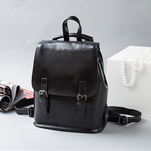 426d987ae85c Yoome Vintage Oil-Wax Leather Backpack Multifunction Purse for Women ...