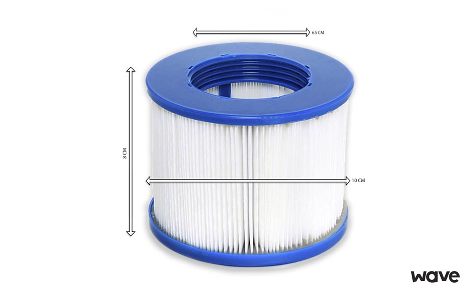 Wave Spa Replacement Hot Tub Spa Filter Cartridge 2 Pack