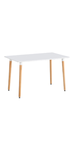 białe stoły