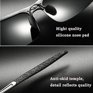 ebd60c1ee202a sunglasses man. SIPLION Men s Driving Polarized Sport Sunglasses Al-Mg  Metal Frame Ultra Light
