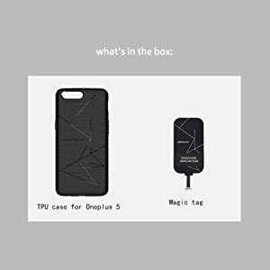 premium selection 67482 5131f Nillkin Oneplus 5 Wireless Charging Receiver Case, QI Standard Flexible  Soft TPU Magic Case Back Cover [Compatible Magnetic Wireless Car Charger]  for ...